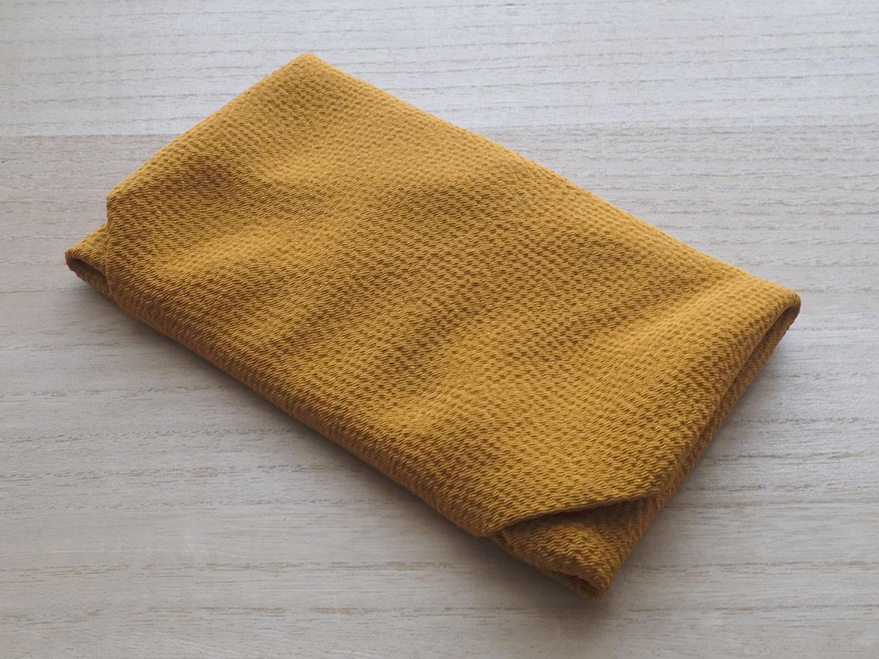 金茶色台付き袱紗